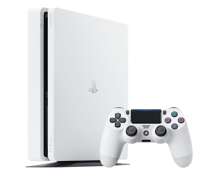 Sony Glacier White Slim PlayStation 4