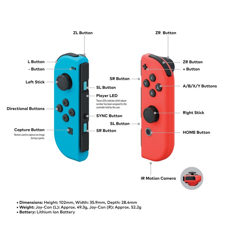 Nintendo Switch's Joy-Con Controller
