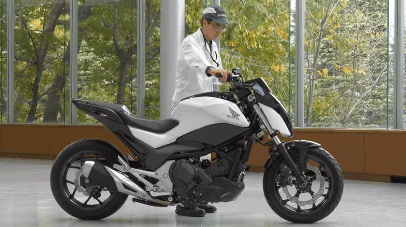 Honda Self-Balancing Concept Motorcycle