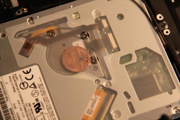 Coins Inside Macbooks