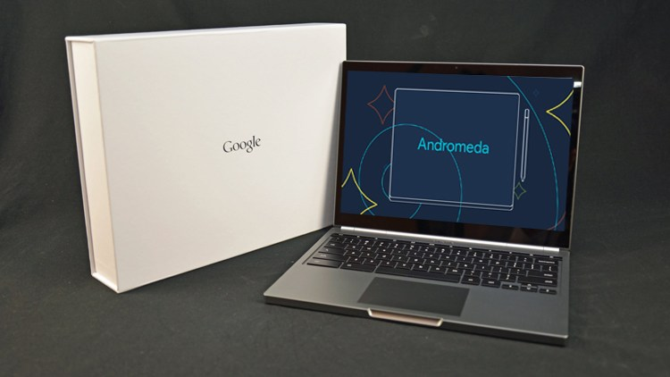 Google's Pixel 3 Laptop with Android OS