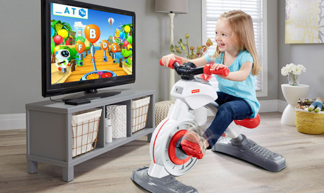 Fisher-Price Introduced Exercise Bike For Kids
