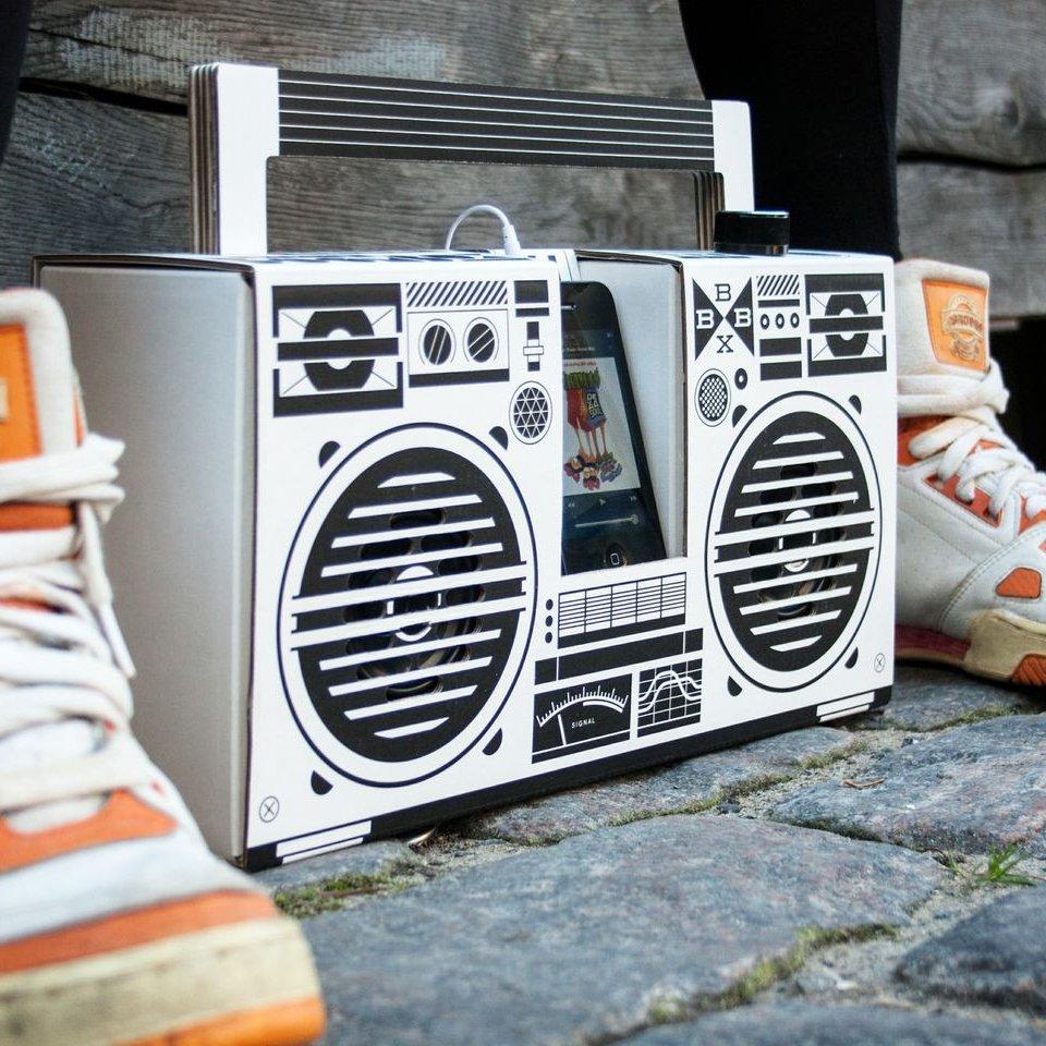 Berlin Retro Boombox