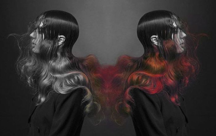 Colour-Changing Hair Dye