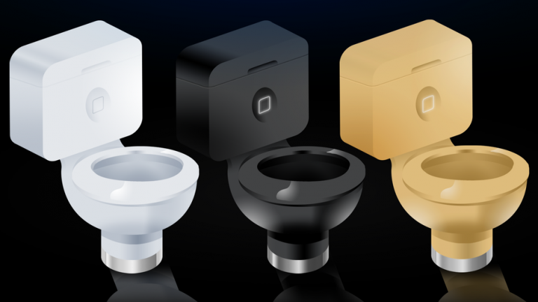 iPhone-Shaped Toilets