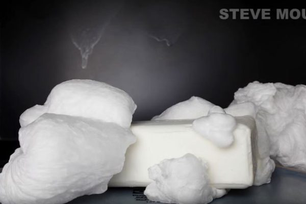 Microwave a soap