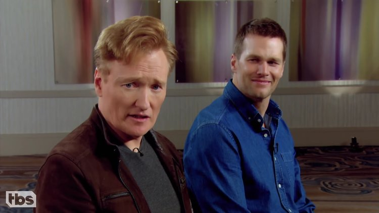 Tom Brady And Conan O' Brien
