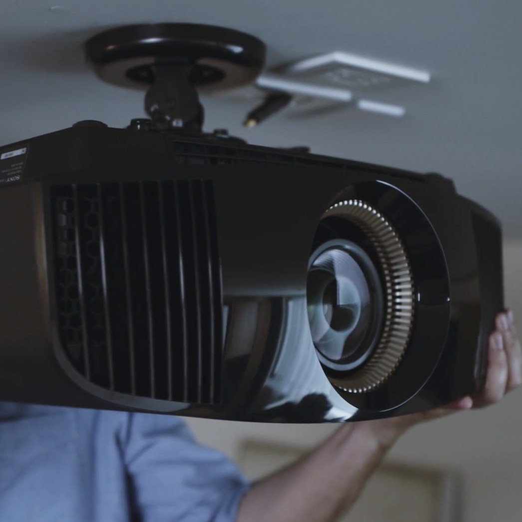 Sony Black 4K 3D Home Theater ES Projector