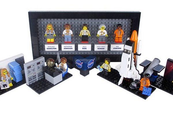 LEGO NASA Women Lego Set