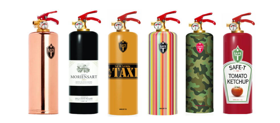 Designer Fire Extinguisher