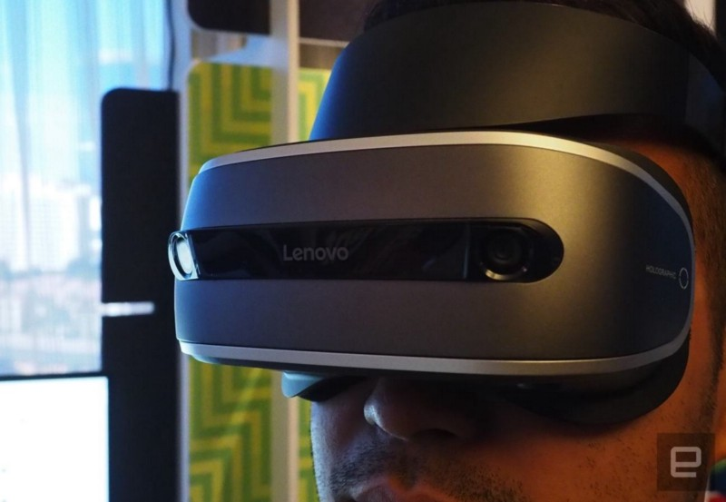 Lenovo's Windows Holographic VR Headset