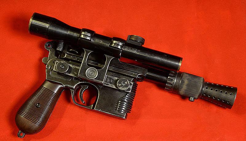 Han Solo Blaster Replica