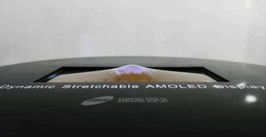 Samsung's 9.1-Inch OLED Stretchable Display