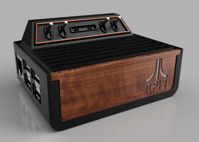 Atari Inspired RPI3 2600 Raspberry Pi Case