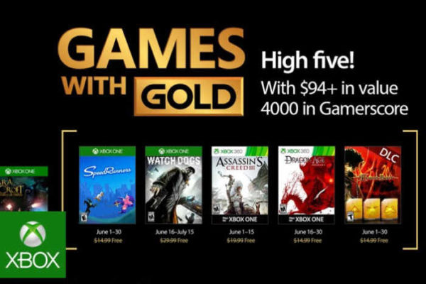 Free Xbox Gold Game For June 2017 Revealed