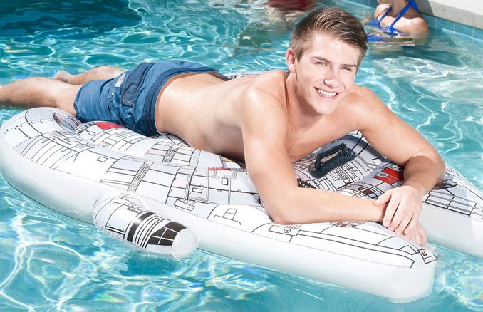 Millennium Falcon Pool Float