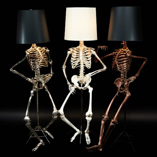 Life Size Skeleton Lamps