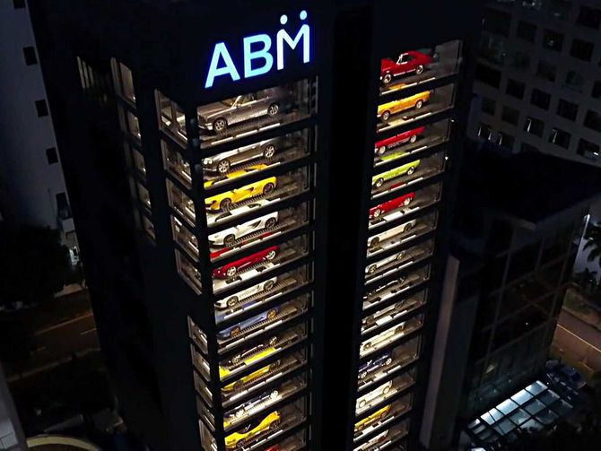 You Can Buy Cars In Singapore With a Giant Vending Machine ...