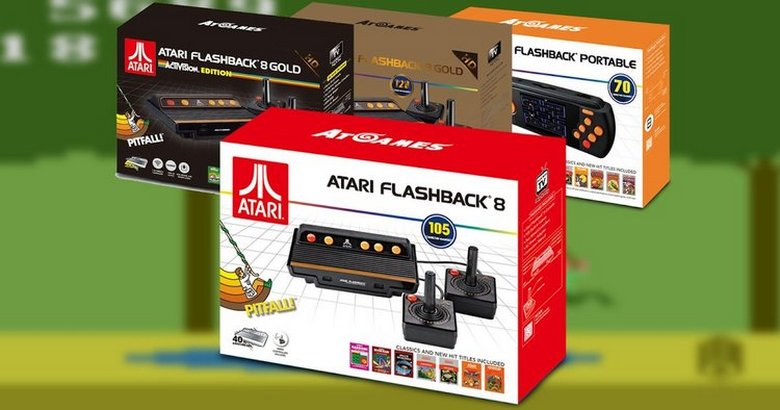 Atari Flashback and Sega Genesis Classic Consoles