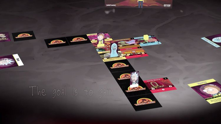 RICK AND MORTY Tabletop Game
