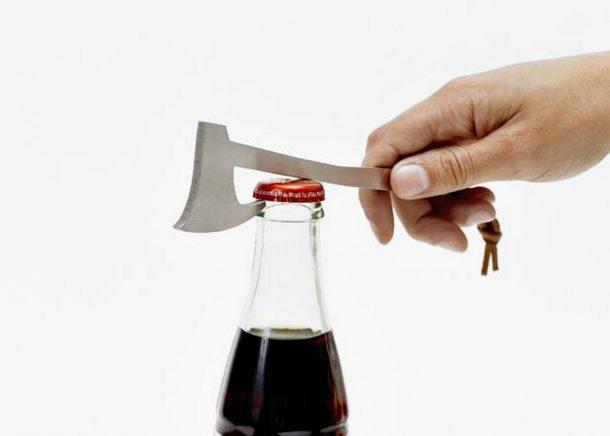 Axe Shaped Bottle Opener