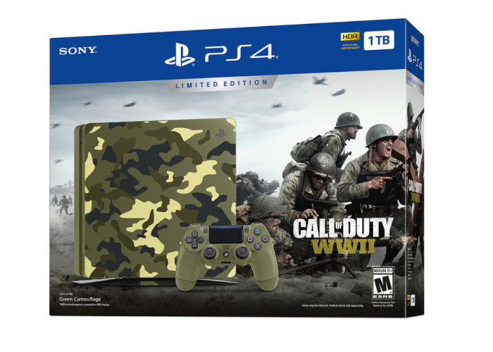 Call of Duty WWII PS4 Bundle