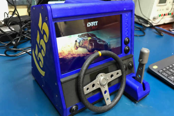 Dirt Rally DIY Tabletop Arcade
