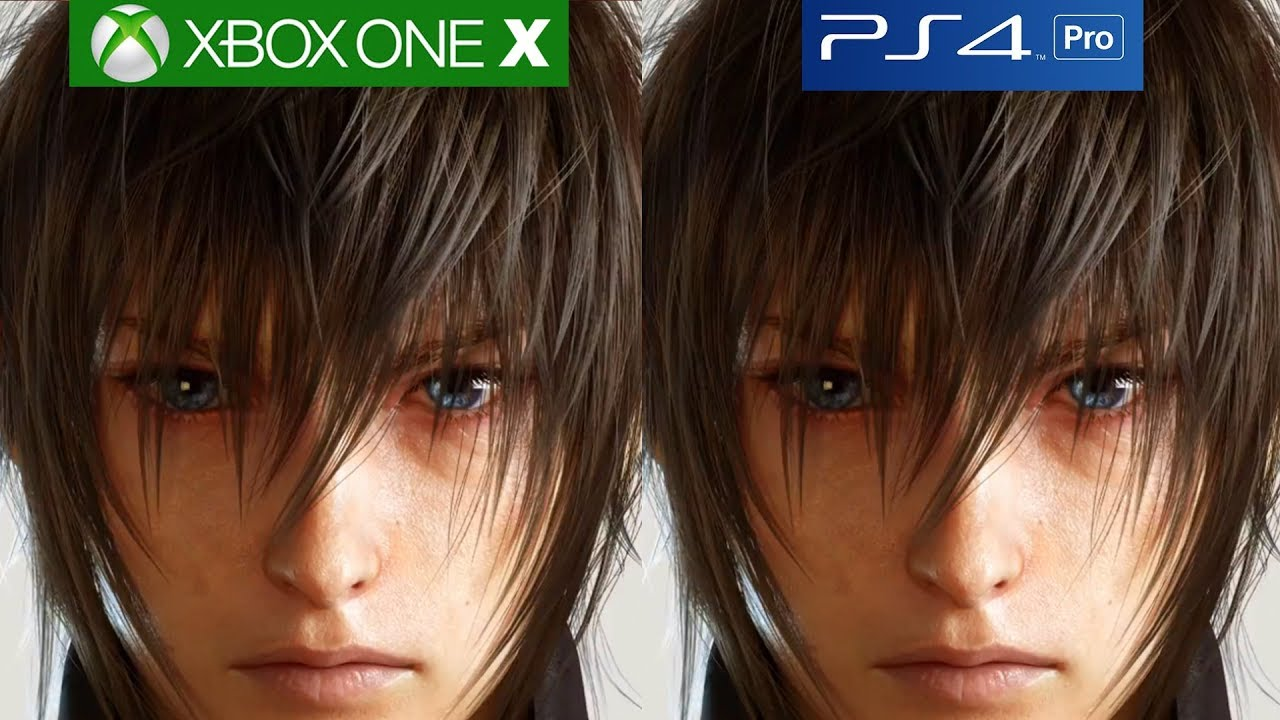 Final Fantasy 15 Xbox One X vs PS4 Pro Graphics Comparison ... Xbox One X Vs Ps4 Pro Graphics Comparison