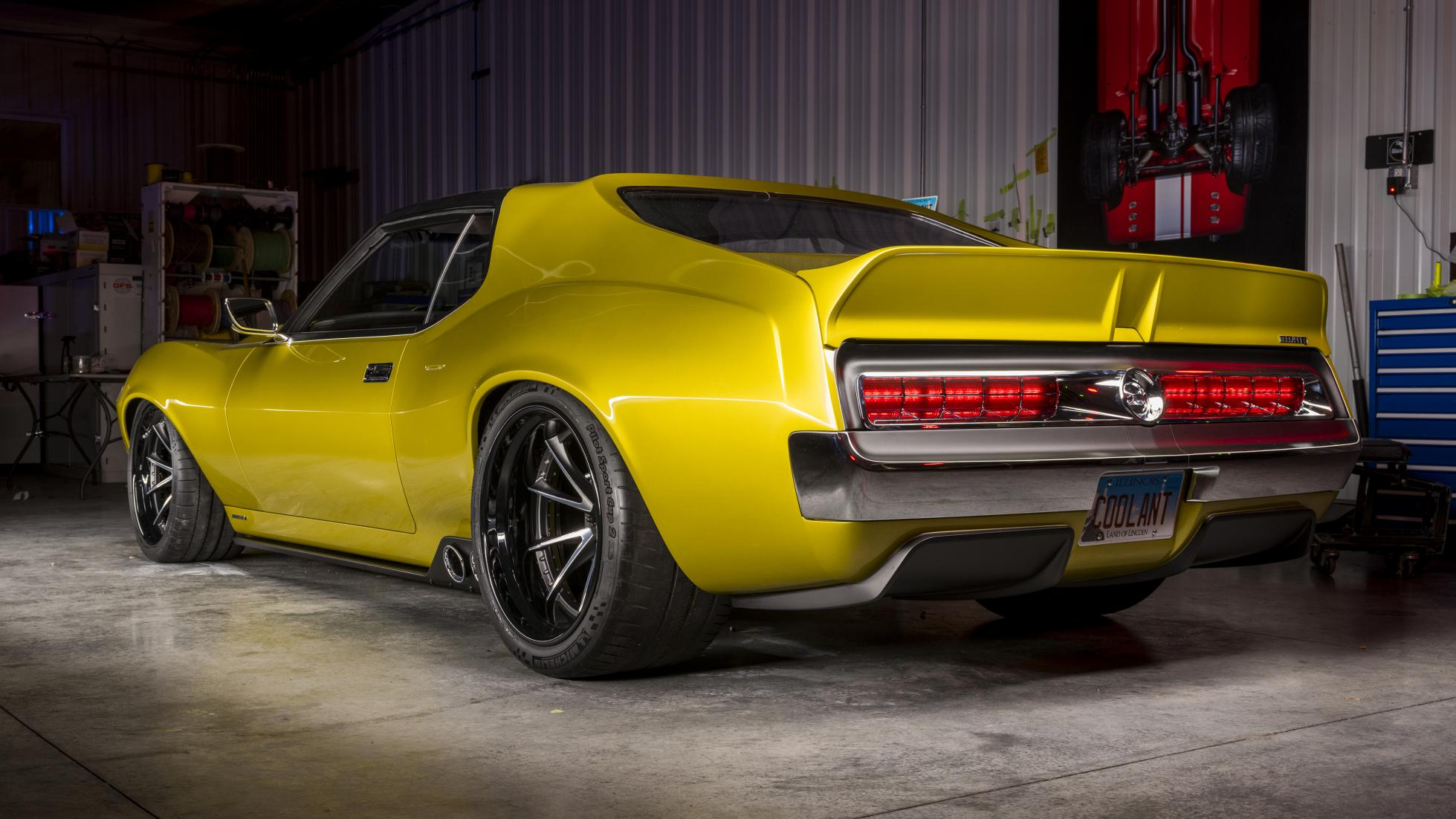 1,036bhp Carbon-Bodied Javelin AMX