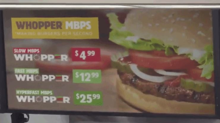 Burger King Explains Net Neutrality