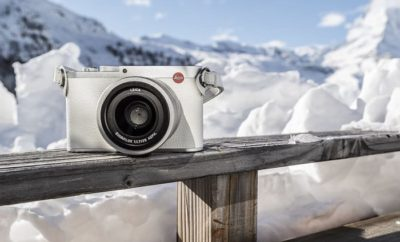 Leica Winter Olympics Snow White Limited Edition Camera