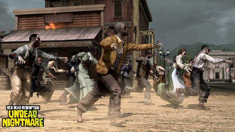 Red Dead Redemption Undead Nightmare