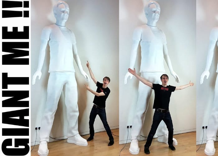 Worlds Largest 3D Printed Human Sculpture