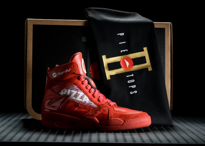 pizza hut sneakers can order your pizza and control your