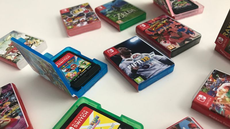 Tiniest Nintendo Switch Game Cases