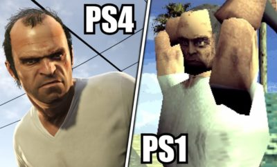 How Would GTA 5 Looks on PS1? - GameNGadgets