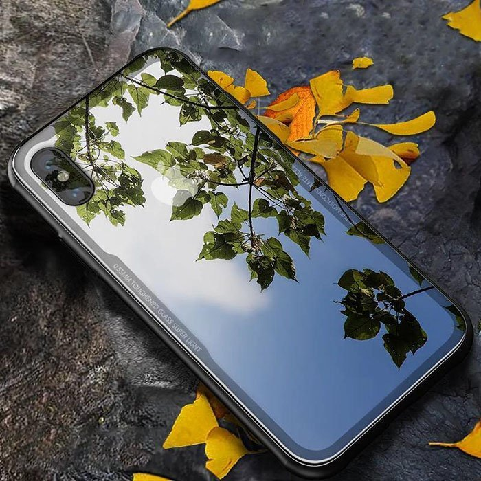 Tempered Glass Shockproof Case