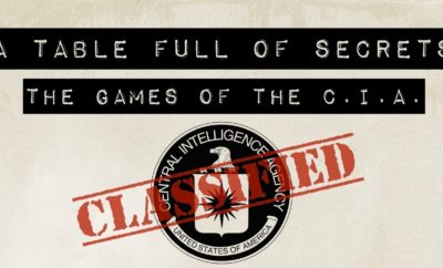 Board Game Made By The CIA