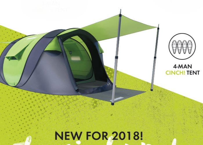 Cinch Smart Popup Camping Tent