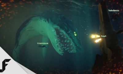 Megalodon in Sea of Thieves