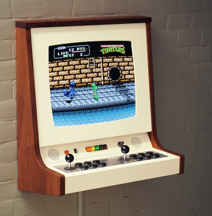 Travel Back In Time With OriginX Wall Mounted Arcade