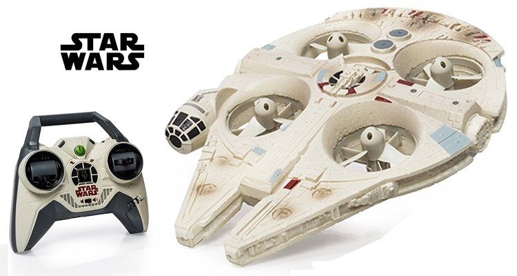 Air Hogs Star Wars Millennium Falcon Quadcopter