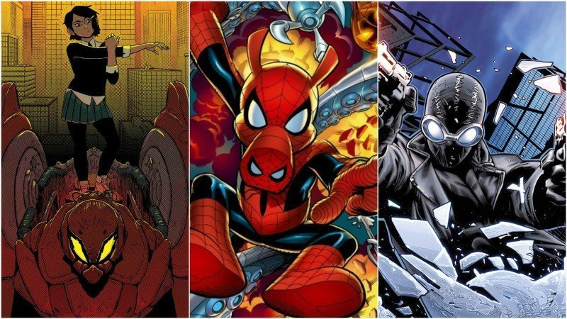 SPIDER-MAN: INTO THE SPIDER-VERSE and New Spider-Characters Revealed