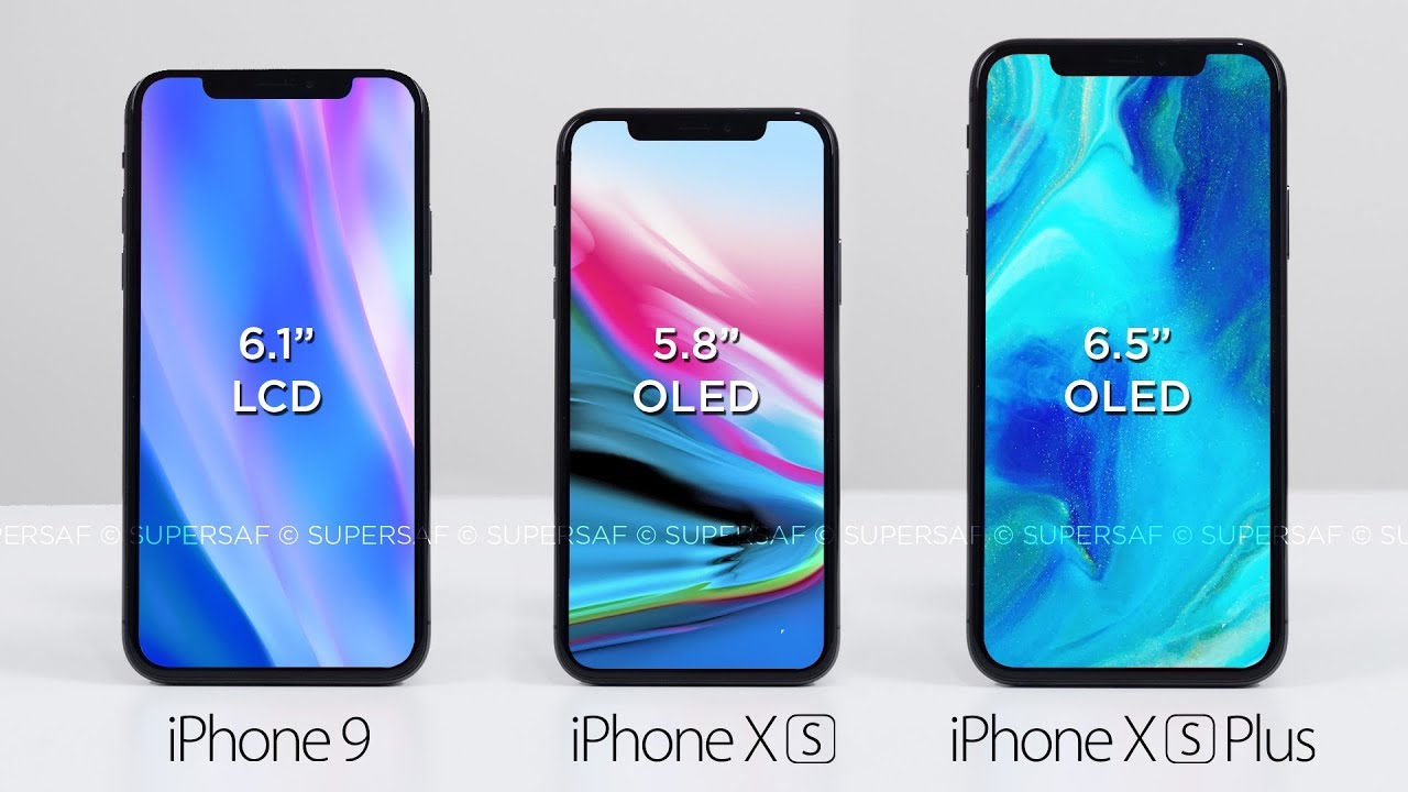 new iphone news the 3 new iphones for 2018 gamengadgets 1591