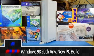 20 Years Old Parts To Built This Windows 98 Gaming PC