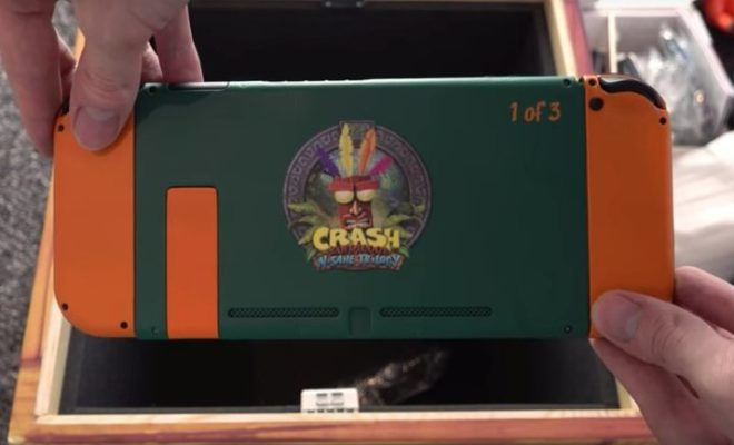 Limited Edition CRASH BANDICOOT Nintendo Switch