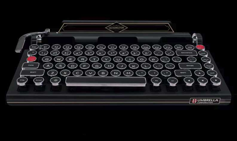 Resident Evil 2 Remake Keyboard