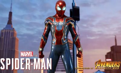 Marvel-Spider-Man-PS4-The-Avengers-Infinity-War-Suit