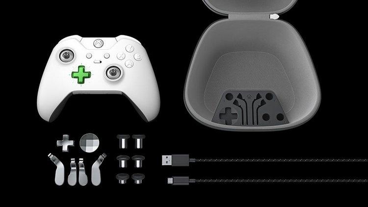White Xbox Elite Controller