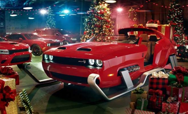 Santa's Sleigh from a Hellcat